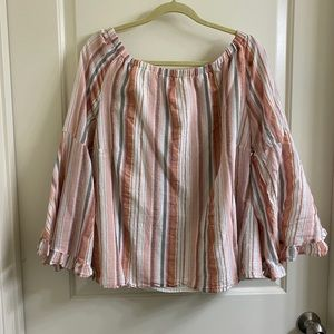 Off the Shoulders Bell-Sleeve